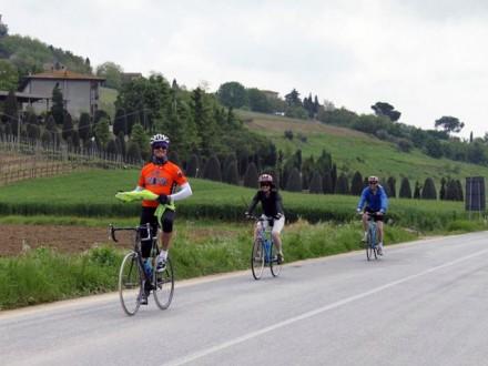 Велотур по Тоскане на велосипеде